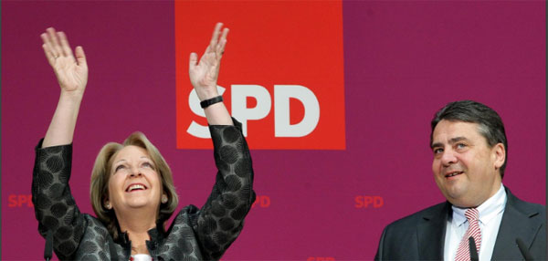 Bild zum Thema Danke SPD für Kraft und Gabriel. Denn ein Ende mit Schrecken ist besser, als ein Schrecken ohne Ende
