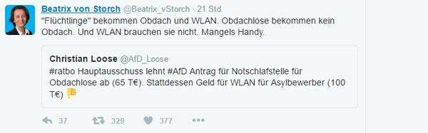Bild zum Thema Logisch in Merkel-Deutschland. Pfeif auf die Obdachlosen.