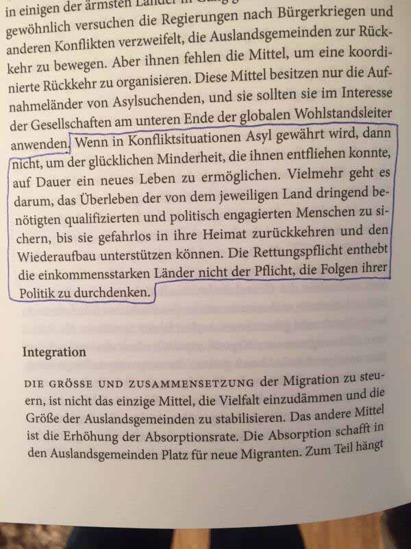 Nicht Integration ist das Ziel, sondern Rettung aus Not. Und weg mit dem Zeug #Date:01.2016#
