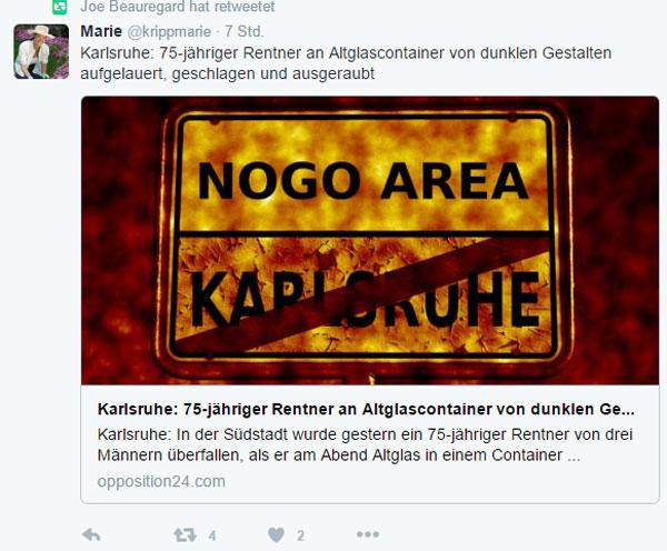 Auffallend, dass in letzter Zeit immer mehr ältere deutsche Mitmenschen brutalst angegriffen werden. #Date:12.2016#