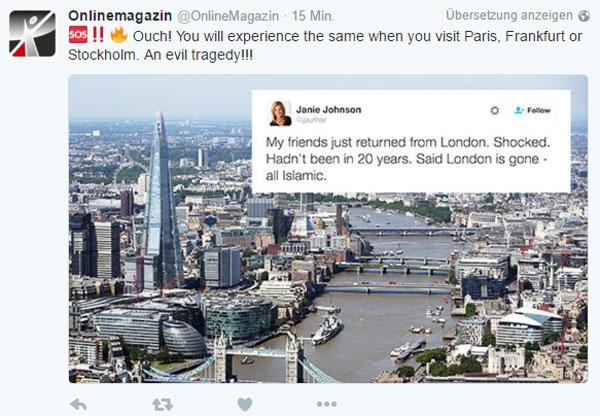 Bild zum Thema Kurzer Reisebericht aus den USA nach London. Von außen sieht man manches klarer.