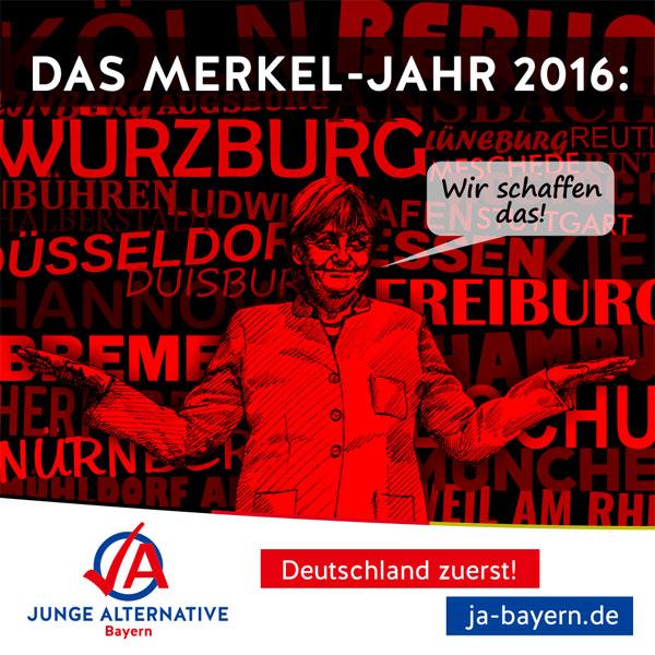 Bild zum Thema Das Merkel Jahr 2016