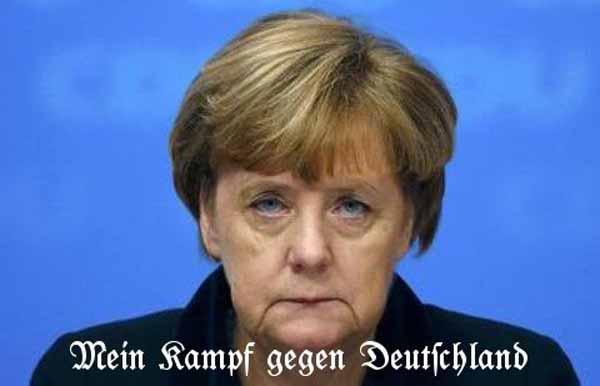 Merkel: Mein Kampf gegen Deutschland #Date:01.2016#