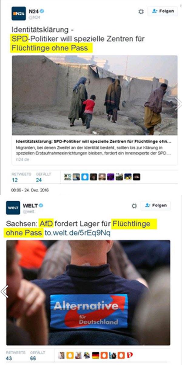 Dieselbe Idee, weil die einzig erfolgversprechende. Da blickt sogar ein SPD-Politiker über den Tellerrand. Es dürfte sich hierbei um einen Einzelfall handeln, der inzwischen diszipliniert wurde. #Date:12.2016#