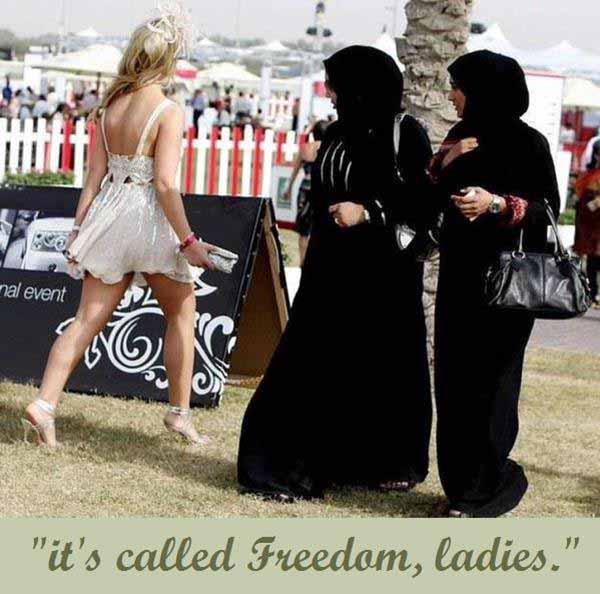 Islam – das nennt man Freiheit, ihr verschleierten Dummis #Date:01.2016#