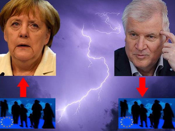 Keine Einigung bei der Streitfrage über eine Obergrenze bei Flüchtlingen zwischen CDU und CSU in Sicht.  #Date:01.2017#
