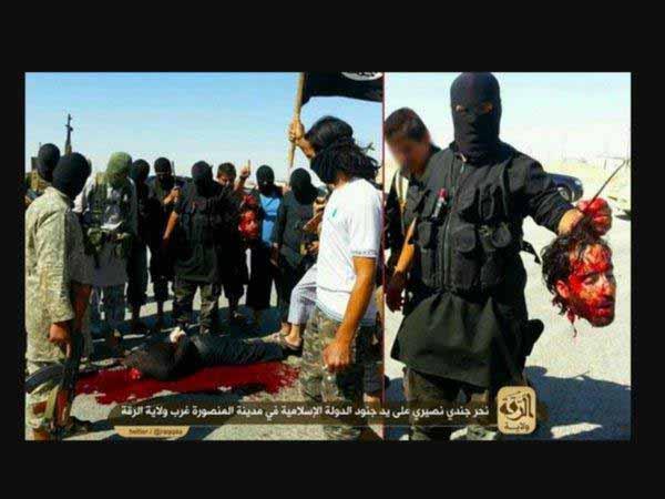 Islamisten mit abgeschnittenem Kopf #Date:12.2015#