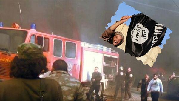 Das ist das Kreuz mit den islamistischen Rebellen in Syrien. Sie besetzen Landstriche und können sie dann nicht gegen den IS und Al-Nusra halten. Sie öffnen ein Einfallstor nach Syrien für  Terror aller Art. Solange die Regierungstruppen das Land nicht unter Kontrolle haben, ist an eine Befreiung und Befriedung nicht zu denken. #Date:01.2017#