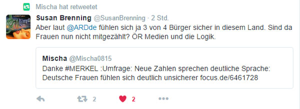 Bild zum Thema Logik der deutschen GEZ-Sender. Dreist.