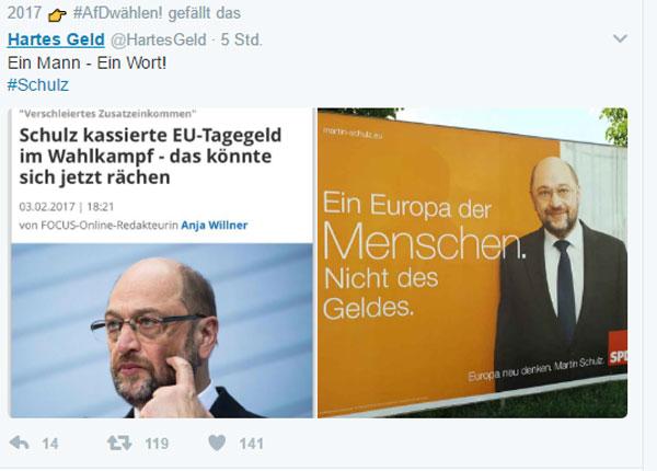 Bild zum Thema SPD-Schulz war noch nie ein unbeschriebenes Blatt, Amigo