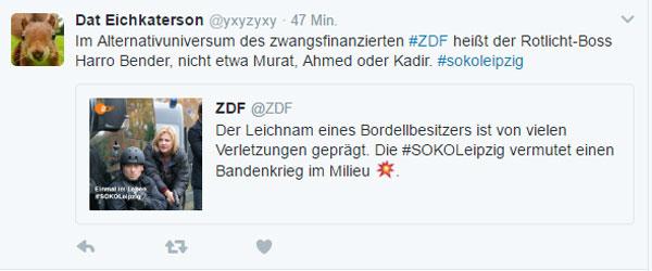 Bild zum Thema Zwangs-ZDF wieder haarscharf an gesellschaftlicher Realität vorbei