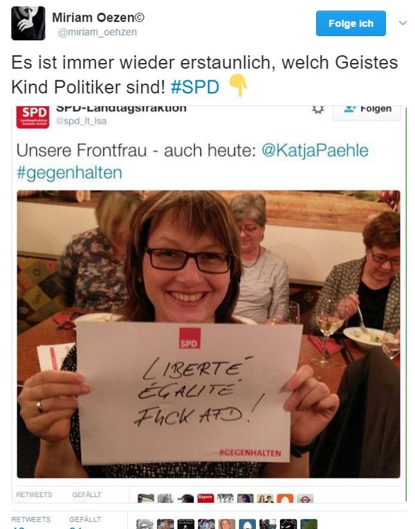 Bild zum Thema SPD oweh oweh
