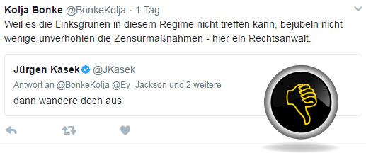 Bild zum Thema Linksbunte haben keine Angst vor Maas  Die linksbunten Ideologen machen sich keine Sorgen um die Zensur-Maßnahmen von SPD-Bundesjustizminister Maas.   Warum das sol ist, dürfte Jedermann klar sein. Die Maas-Zensur richtet sich allein gegen Andersdenkende, die nicht dem rotgrünem Spektrum angehören.  Also, was soll's. :v  #NetzWerkDurchsetzungsGesetz ???  #Stasi_2_0?  #DDR_2_0?  #Maas_auf_den_Mars??  #Amadeu_Antonio_Schlamassel? #SPD_Zensurpartei?  #Maas_Zensur_Antifa?  #DGB_Demokratie_Killer?  #PC_OFF_Wahrheit_ON?? #GedankenPolizei?  #ZensurStaat?????