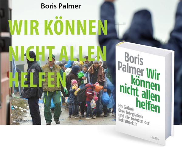 Bild zum Thema Buchempfehlung: Boris Palmer - Wir können nicht allen helfen  Nein, nein, keine Angst. Boris Palmer, Oberbürgermeister von Tübingen, ist ein echter Grüner.   Außerhalb der Debatte um die toxische Flüchtlingspolitik von Merkel ist Palmer grün bis in die Fingerspitzen, sonst wäre er in Tübingen mit seiner ausufernden linksautonomen Szene nie zu Amt und Würden gekommen.  Palmer wird aufgrund seiner Haltung zur Asylkrise und dem einhergehenden Kontrollverlust des Staates von den Grünen, sowie Gut- und Bessermenschen massiv attackiert.   +++ Beschreibung: Ein grüner Oberbürgermeister spricht Klartext Nachdem Angela Merkel hunderttausende Flüchtlinge ins Land ließ, stellt sich nun die Frage: Wie kann es uns gelingen, die riesige Herausforderung der Integration zu meistern? Boris Palmer, Deutschlands bekanntester grüner Bürgermeister, zeigt, dass wir bei aller Hilfsbereitschaft auch offen über die Grenzen der Belastbarkeit sprechen müssen _x0096_ etwa über Bildungs- und Jobchancen, über Wohnungsnot, den Umgang mit Gewalt und Abschiebung oder Fragen von Ordnung und Sicherheit.  256 S., geb.  +++  Eine Bestellmöglichkeit finden Sie hier: http://bit.ly/2uzcbXL  #palmer  #grüne  #tübingen  #massenmigration  #asylchaos  #buchempfehlung  #merkel  #flüchtlingswahnsinn  #refugees  #deutschland