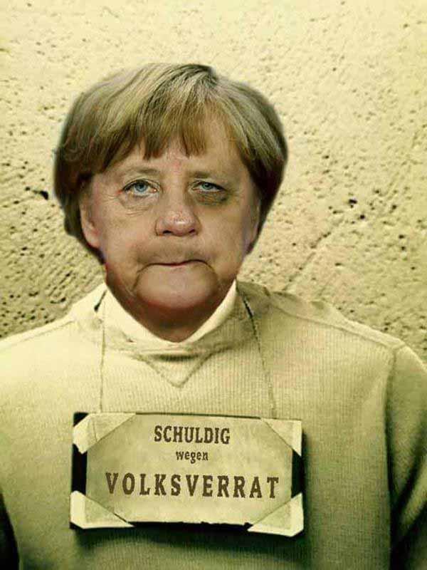 Merkel angeklagt des Hochverrats an Deutschland #Date:01.2016#