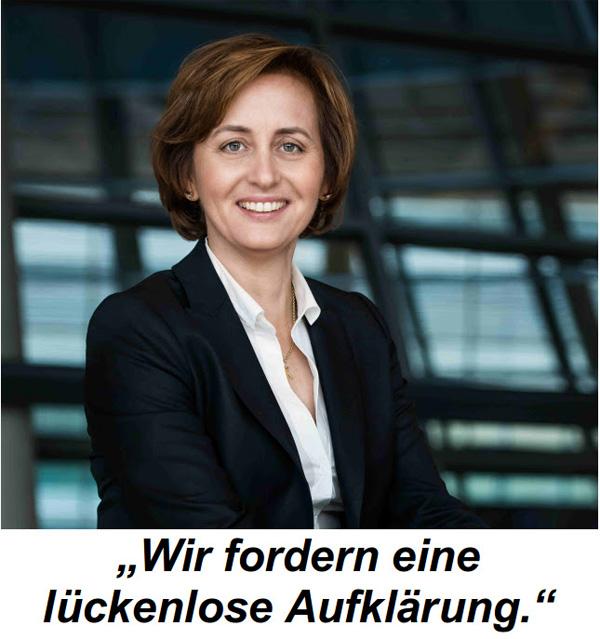 Beatrix von Storch: Untersuchungsausschuss Merkel jetzt  +++ Die Reaktionen auf unsere Forderung nach einem Untersuchungsausschuss Merkel sind riesengroß: Mehr als 357.000 Petitionen haben Sie in den vergangenen Monaten an ausgewählte Volksvertreter im Bundestag geschickt. Die Forderung ist klar und eindeutig: Die eigenmächtigen Entscheidungen und Rechtsbrüche der Merkel-Regierung in Bezug auf die Migrantenkrise müssen Konsequenzen haben.  Gerade jetzt ist unnachgiebiges Nachfassen vonnöten, da die Kanzlerin keinen Zweifel daran lässt, dass sie auch weiterhin unbegrenzt Migranten aufnehmen will. Diesen gefährlichen Vorschlägen müssen wir Bürger uns mit aller Kraft entgegenstellen. Wir können nicht tatenlos mit ansehen, daß noch mehr Migranten nach Deutschland gelangen. Wir schaffen das nicht. Terrorgefahr, Islamisierung und Parallelstrukturen sind schon jetzt eine existenzielle Gefahr für unser Land, die Sicherheit und unsere Kultur. +++  #btw17 ???? #Alternative_für_Deutschland?#AfD_wählen ???? #Unbequem_Echt_Mutig_AfD™ ???? #Mut_zur_Wahrheit_AfD™ ????  #TrauDichDeutschland ????  Für eine echte Opposition im Bundestag!   ?? Fit4Return: https://goo.gl/ZKPxvM  ??  AfD-Bundestags-Wahlprogramm: https://goo.gl/lT4U3x ?? #Date:#