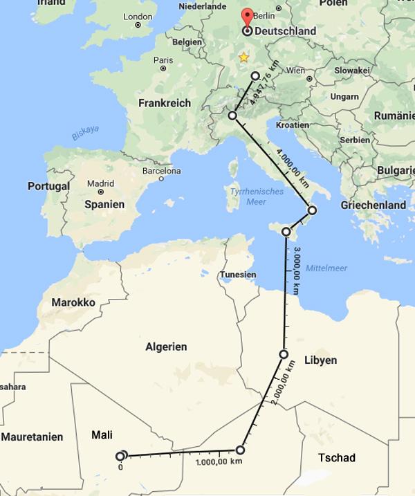 Regensburg: Tatverdächtiger Prostituiertenmord | 21-jähriger Mann mit malischer Staatsangehörigkeit  Der Prostituiertenmord in Regensburg. Als dringend tatverdächtig wurde ein Herr aus Mali festgenommen.[1]  Der Kulturbeauftragte aus Westafrika hat vermutlich einen knapp 5.000 km langen beschwerlichen Reiseweg hinter sich. Wir sollten dies berücksichtigen.  Außerdem sollte man bedenken, dass in Mali eine UN-Mission läuft, an der 12.000 Blauhelme beteiligt sind. Darunter auch Soldaten der Bundeswehr [2]  Mali ist ein muslimisches Land (85 - 90 %). [3]  Wieder einmal kämpfen dort streng islamischen Tuareg-Rebellen gegen die islamische Zentralregierung. [4]  Kein Grund zu checken, wer zu uns kommen darf. Alles brave Jungs dort unten. :v  [1] https://www.polizei.bayern.de/mittelfranken/news/presse/aktuell/index.html/267106  [2] http://www.sueddeutsche.de/politik/afrika-die-bundeswehr-in-mali-eine-riskante-mission-1.3350888  [3] https://de.wikipedia.org/wiki/Mali#Religionen  [4] https://de.wikipedia.org/wiki/2._Tuareg-Rebellion#B.C3.BCrgerkrieg_und_Friedensvereinbarung_in_Mali_.281990.E2.80.931996.29  #regensburg  #mord  #mali  #einzelfall  #mann      #Date:09.2017#