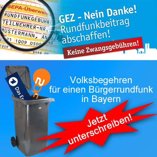 Bild zum Thema  Wahlen: ZDF lügt, dass sich die Balken biegen  Unmittelbar vor Mitteilung der ersten Wahlprognose hat das ZDF die Zuschauer mit Statistiken zu bestimmten Wahlthemen traktiert.  Nach den Aussagen dieser Statistiken hätte dies mindestens eine 80%-ige Zustimmung zur Politik von Merkel bedeutet.  Und was kommt raus? Knapp über 30% für die 'Deutschland-zuletzt'-Kanzlerin.  Wie dreist kann man sein? Die Staatssender müssen verschwinden.  Jetzt geht die Treibjagd auf die AfD und ihre Politiker richtig los.   Bei allem, was uns heilig ist. Wir werden dagegen halten. :v  Volksbegehren Bürgerrundfunk in Bayern: http://volksbegehren-br.de/  #ard  #zdf  #staatsfunk  #regierungsmedien  #rundfunkbeitrag  #bürgerrundfunk  #volksbegehren  #bayern