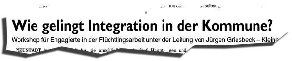 Bild zum Thema Seminar für Flüchtlingshelfer in NEA  Die FLZ berichtet in ihrer Ausgabe vom 28.9.17 (pm/ug) über ein Seminar für Flüchtlingshelfer in Neustadt/A.  Der Bericht scheint erkennen zu lassen, dass man sich langsam vom hysterischen Welcome-Klatschen zur Sacharbeit durchringt.  Klar ist, dass die Seminarteilnehmer einer Gruppe von Freiwilligen angehören, die zusammen mit Kanzlerin Merkel an einem mit gewaltigem Risiko für Land und Leute einhergehenden gesellschaftlichen Freiland-Experiment teilnehmen. Dessen sollten sich die Flüchtlingshelfer bewusst sein.  Ebenso erforderlich wäre die Einsicht in die Notwendigkeit, dass die Mitarbeiter in der Flüchtlingshilfe sich über den Schutzstatus der Betreuten im Klaren sind. Je weniger sich die Helfer mit dieser Frage auseinandersetzen, desto größer ist natürlich die Kluft zwischen der in ihre Tätigkeit hinein interpretierte Speerspitze von Humanität und Weltrettung und den rechtlichen, gesellschaftlichen und geopolitischen Realitäten.  Der Flüchtlingsstatus bedeutet eine temporären Schutzstatus. Das bedeutet, die Flüchtlinge kehren in ihr Heimatland zurück, sobald eine unverhältnismäßige Gefahr dort nicht mehr vorliegt. Ganz klar und eindeutig.  Flüchtlingshelfer sollten sich daher von Anfang an darüber im Klaren sein, dass der Zeitpunkt der Ausreise kommen wird. Jedwede andere Interpretation sind Hirngespinste.   Es ist völlig klar, dass SPD, Linke und Grüne darauf spekulieren, dass Personen in der Flüchtlingshilfe aufgrund der Verkennung der Sachlage sich ideologisieren und damit für deren 'Deutschland-zuletzt'-Politik missbraucht werden können. :V  So muss Flüchtlingshilfe aussehen: https://cdn.afd.tools/sites/75/2017/05/19130758/Fit4ReturnFlyer.pdf  #flüchtlingshelfer  #nea  #caritas  #flüchtlingsstatus #temporärer_schutzstatus  #ideologisierung  #linke  #grüne  #spd  #afd  #fit4return  #LkNeaBw
