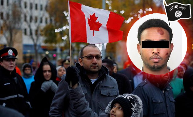 Bild zum Thema Kanada: Verschärfung des Zuwanderungs-Modells  Kanada ist das Zuwanderungsland schlechthin (ohne Asylbewerber und Flüchtlinge, da sind wir die Beliebtesten).   Das Land regelt seine Zuwanderung nach einem Punktesystem für die Einwanderer. Es findet somit eine quantitative, als auch qualitative Beschränkung statt, ohne sich gänzlich abzuschotten.  Jetzt hat ein somalischer Asylbewerber die kanadische Nation mit einem LKW-Anschlag geschockt. Im Fahrzeug des moslemischen Attentäters fand man zudem eine Flagge des Islamischen Staates IS.  +++ Der Täter hatte am Samstagabend (Ortszeit) in der 800.000-Einwohner-Stadt Edmonton während einer Sportveranstaltung einen Polizisten vor einem Stadion angefahren und dann mit einem Messer auf den Beamten eingestochen. Der Polizist überlebte die Attacke, obwohl er durch die Wucht des Rammstoßes mehrere Meter durch die Luft geschleudert wurde und anschließend noch Schnitt- und Stichwunden erlitt.  Kurz darauf verletzte der Attentäter mit einem Miet-Lastwagen vier weitere Menschen im Stadtzentrum. Bei der anschließenden Flucht geriet er mit seinem schweren Wagen ins Schleudern. Der Kleinlaster kippte um. S. konnte unmittelbar darauf leicht verletzt festgenommen werden.  +++  Auch hier führten Fehler in der Abwicklung des Asylverfahrens zum Zeitgewinn, der dem Attentäter seine Tat ermöglichte. Denn eigentlich hätte der Somalier nach kanadischem Asylrecht wieder in die USA zurückgeschoben werden müssen, von wo er ausgewiesen worden war. :v  Siehe hierzu auch: http://www.n-tv.de/politik/Lkw-Attentaeter-stammt-aus-Somalia-article20067127.html  #kanada  #kanadisches_modell  #einwanderungsland #punktesystem  #attentäter #anschlag #asylbewerber  #islam  #islamischer_staat  #islam  #asylverahren