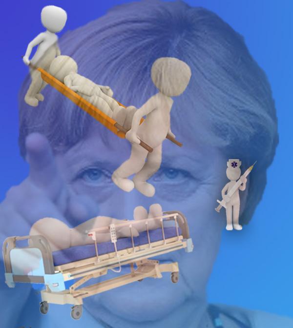 Bild zum Thema Merkel-Politik für die hier Beheimateten: Blutige Entlassung und Pflegenotstand  Für was so ein Bundestagswahlkampf alles gut ist. Was jahrelang eiskalt und spurlos an der Politik vorbeigeht, wird plötzlich zum Thema. Und der nicht gerade verwöhnte Deutsche Michel in Not freut sich, dass sich endlich mal jemand für seine Probleme interessiert.  Krankenhäuser im spätkapitalistischen Wettbewerb, Fallpauschalen und 'Blutige Entlassungen'. Steigende Patientenzahl in der Pflege je Pflegekraft und Missstände in vielen Pflegeeinrichtungen wegen fehlender Kontrollen und mangelnder Aufsicht.  Wir reden hier nicht von Uganda. Wir reden von Deutschland. Und wir reden davon, dass sich Politiker nicht mit diesen Tatsachen beschäftigen müssen, weil sie zum Establishment gehören und aufgrund ihres Einkommens mit privater Zusatzabsicherung überhaupt keinen Plan und keine Berührungspunkte mit der Sachlage haben. Und wir reden hier von Klinikschließungen, Privatisierung des Gesundheitswesens, Spendensammlungen für Kinderkrebsstationen.   Geburtsstationen und die angemessene Vergütung von Hebammen sollten in Zusammenhang mit der demografischen Entwicklung allererste Priorität haben. Die Realität in diesem Land: Geburtsstationen werden geschlossen, Hebammen gehen  an den Versicherungskosten zugrunde. Eine logische Folge der Entscheidung, einerseits die Welt zu retten (Merkel) und andererseits Inzucht zu vermeiden (Schäuble).  Weg vom realitätsentrückten Berufspolitiker, hin zum Bürgerabgeordneten. Alles andere ist Kokolores und führt zu abgehobenen Entscheidungen, wie von Flüchtlings-Kanzlerin Merkel.  Siehe hierzu auch: https://www.welt.de/wirtschaft/article169362394/Der-Pflegenotstand-ist-zum-ernsten-Gesundheitsrisiko-geworden.html  #pflegenotstand  #krankenhausökonomie  #blutige_entlassung  #pflegeschlüssel  #heimkontrollen  #wettbewerb  #gesundheitswesen  #klinikschließungen  #geburtsstationen  #hebammen  #weltrettung  #merkel  #inzucht  #schäuble  #berufspolitiker  