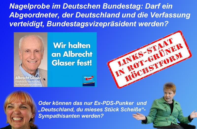 Nagelprobe im Bundestag: Darf man als Bundestagsvize die Wahrheit sagen?  #bundestag  #präsident  #vize  #glaser #afd  #grüne  #roth  #linke #pau #demokratie  #lex_afd  #wahl  #rotgrünfront #Date:10.2017#