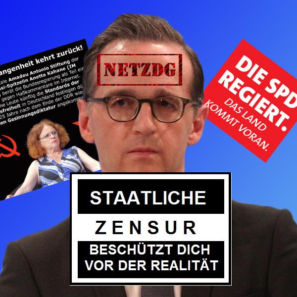 Bild zum Thema SPD-Zensurminister Maas: EU nimmt Maß  Der EU-Vizekommissionspräsident Andrus Ansip hat sich das deutsche Netzwerkdurchsetzungsgesetz NetzDG zur Brust genommen.  In Brüssel ist man der Ansicht, dass Zensurmaßnahmen wie im NetzDG festgeschrieben, bei weniger gefestigten Demokratien durchaus geeignet seien, die freie Meinungsäußerung einzuschränken.  Der abgewählte SPD-Justizminister Heiko Maas hatte das NetzDG auf dem Weg gebracht, um den regierungsamtlichen Meinungskorridor vor der Gegenöffentlichkeit in den Sozialen Medien zu schützen. Insbesondere sollte damit die Flüchtlingspolitik der Großen Koalition abgeschirmt und Tatsachen um Asylchaos und Massenmigration totgeschwiegen werden.  Hauptkritikpunkt am NetzDG ist, dass hier Meinungsäußerungen durch Laienpersonal eingeordnet und unterbunden werden, wie dies sonst von Staatsanwälten und Richtern vorbehalten ist.  Stark involviert in diese perfide Meinungstotschlagmaschinerie sind vor allem linkslastige Vereine und Organisationen, wie z.B. die Amadeu-Antonio-Stiftung der ehemaligen Stasi-IM Kahane ('Victoria').  Das NetzDG war in einer Nacht- und Nebelaktion von der Großen Koalition durch den Bundestag gepeitscht worden.  #maas  #netzwerkdurchsetzungsgesetz #netzdg  #zensur  #spd  #eu  #kommission  #kritik  #meinungskorridor  #mainstream #regierungspresse  #merkelmedien  #kahane