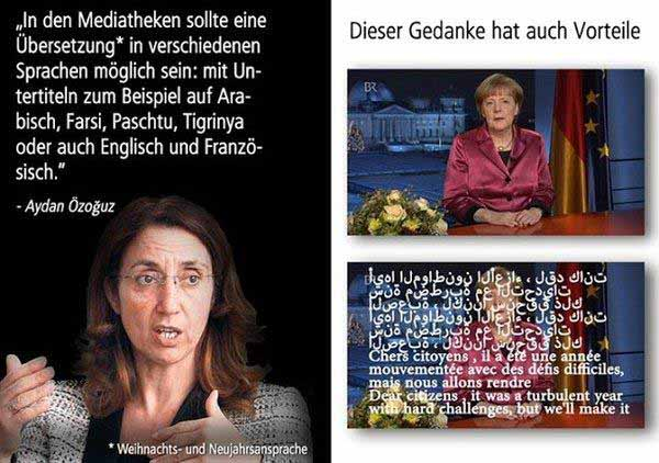 Islam Deutsche Neujahrsansprache auf arabisch Özoguz #Date:12.2015#