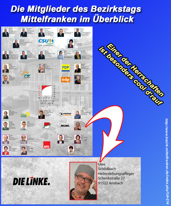 Bild zum Thema Bezirkstag Mittelfranken: Coole Vorstellungsrunde  http://www.bezirk-mittelfranken.de/index.php?id=214  #mittelfranken  #bezirkstag #DieLinke  #linke