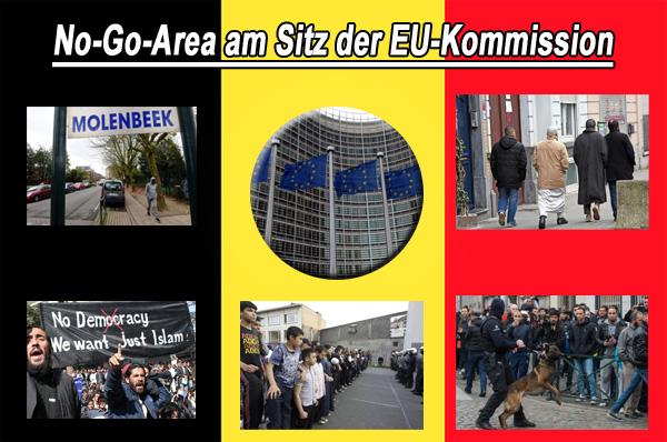 Brüssel: No-Go-Area Molenbeek aus Sicherheitsgründen für Politiker nicht betretbar  Der Bürgermeister von Brüssel muss jeden Politikerbesuch in der Gemeinde Molenbeek während des Kommunalwahlkampfes in Belgien danach abwägen, ob es überhaupt eine reelle Sicherheitsgarantie für den Besuch geben kann. Ansonsten wird der Besuch verboten.  Brüssel ist Sitz der EU-Kommission, des EU-Ministerrats und des Europäischen Rats. Molenbeek gilt als Hochburg und Rückzugsort für radikale Moslems.  Bizarr, surreal und doch traurige Realität.  #belgien  #molenbeek  #eu  #eu_kommission  #NoGoArea  #islam  #radikalmoslems  #islamextremisten   #Date:11.2017#