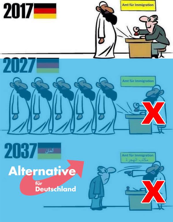 Alternative zu Rot-Grün  #massenmigration  #deutschland  #patrioten  #identität  #kultur  #abendland  #heimat #Date:11.2017#