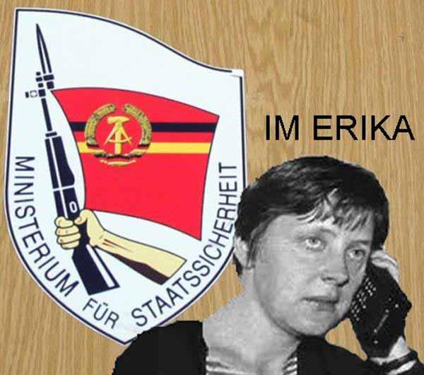 IM Erika – alias Bundeskanzlerin Dr. Angela Merkel #Date:12.2015#