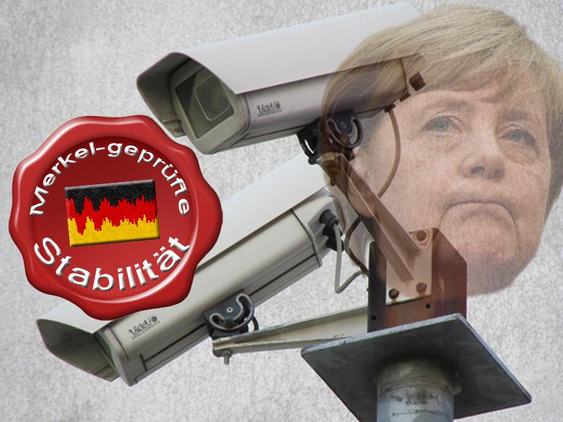 """Lieber eine stabile Gesellschaft, als eine stabile Merkel-Regierung  #deutschland  #regierung  #stabilität  #merkel  #durchregieren  #minderheitsregierung  #nürnberg  #fürth  #ubahn  #videoüberwachung #investition  #stabile_gesellschaft  Frau Merkel lehnt eine Minderheitsregierung ab, weil sie damit nicht nach Gutsherren-Art durchregieren kann.Mit ihrer Vorstellung von einem merkel-stabilen Regiment entfernt sich die Hype-Kanzlerin schon wieder mittels Marsrakete von Allem, was gut für Deutschland wäre.  Um also die Illusion von der Mär eines stabilen Landes durch eine stabile Regierung (GroKo) aufrechtzuerhalten werden jährlich deutschlandweit hunderte Millionen in Sicherheit investiert. Von den Aufwendungen der einzelnen Bürger wollen wir gar nicht reden.  Ein solches """"Stabiliätsprogramm"""" wurde jetzt auch für Nürnberg und Fürth beschlossen. 422 zusätzliche Videokameras sollen im U-Bahn-Bereich installiert werden. Kosten ca. 5 Mio. Euro.  Damit sollen nun insgesamt geschlagene 667 Kameras den U-Bahn-Bereich überwachen, um die Politik der Kanzlerin zu stabilisieren.0 #Date:11.2017#"""