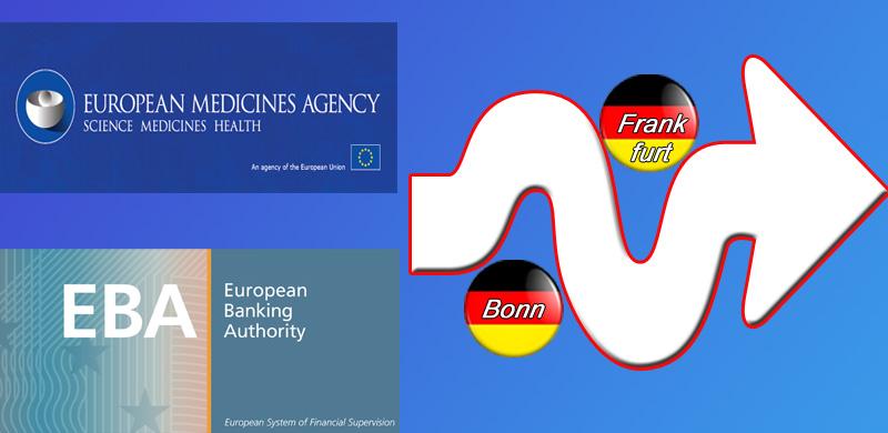 Deutschland geht bei Umzug von EU-Agenturen leer aus  Pech für Frankfurt und Bonn. Lange hatte man sich nach dem Brexit darum bemüht, eine oder beide bislang in London residierende EU-Agenturen nach Deutschland zu holen.  So entschied die EU-Kommission nun, dass die Europäische Arzneimittelbehörde (EMA) nach Amsterdam umzieht. Rund tausend Beschäftigte arbeiten bei der EMA.   Verbunden ist der Umzug der EMA mit einem Skandal, den keiner mehr zu Kenntnis nimmt, weil man schon zu abgestumpft ist: da die EU einen Mietvertrag ohne Kündigungsklausel in London unterschrieben hat, fließen die Mietkosten noch bis 2039, insgesamt 347.000.000 Euro.   Die Europäische Bankenaufsicht (EBA) zieht nach dem Willen der EU von der Themse nach Paris.  In solchen Fällen ist Merkel dann urplötzlich nicht mehr als mächtigste Frau der Welt ???? bei der EU gefragt. Wir sind irgendwie lachhaft mit dieser Kanzlerin.  #eu  #kommission  #ema  #eba  #london  #paris  #amsterdam  #umzug  #geldverschwendung  #Date:12.2017#