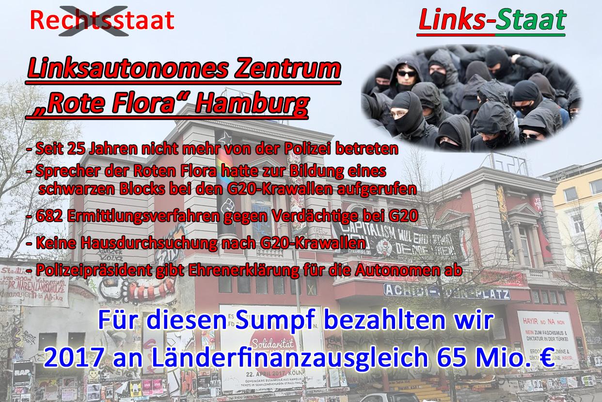 """>> """"Rote Flora"""" Hamburg: Ehrenerklärung für Linksautonome durch Polizeipräsidenten  #rote_flora  #autonome  #linksfaschisten  #g20  #krawalle  #schwarzer_block  #linksautonome  #ermittlungsverfahren  #verurteilungen  #polizeipraesident  #ehrenerklaerung #Date:12.2017#"""
