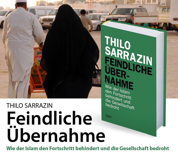 """>> Buchempfehlung: """"Feindliche Übernahme"""" von Thilo Sarrazin  Verlagstext: ????Das Zurückbleiben der islamischen Welt, die Integrationsdefizite der Muslime in Deutschland und Europa sowie die Unterdrückung der muslimischen Frauen sind eine Folge der kulturellen Prägung durch den Islam. Das zeigt Thilo Sarrazin in seinem neuen Bestseller.  Auch Deutschland muss sich diesen Tatsachen stellen, wächst doch der Anteil der Muslime in Deutschland und Europa durch Einwanderung und anhaltend hohe Geburtenraten immer weiter an. Bei einer Fortsetzung dieses Trends sind die Muslime hier auf dem Weg zur Mehrheit. Unsere Kultur und Gesellschaft lassen sich nur schützen, indem die weitere Einwanderung von Muslimen gestoppt und die Integration der bei uns lebenden Muslime mit robusten Mitteln vorangetrieben wird.   Denn alle Tendenzen, den Islam zu reformieren, sind bisher weitgehend gescheitert. So gibt es in keinem Land, in dem Muslime in der Mehrheit sind, Religionsfreiheit und eine funktionierende Demokratie. Stattdessen leidet die islamische Welt als Ganzes unter einem explosionsartigen Bevölkerungswachstum, und ihre Fanatisierung nimmt ständig zu.  Thilo Sarrazin spannt einen Bogen von den Aussagen des Korans zur mentalen Prägung der Muslime, von da weiter zu Eigenarten und Problemen muslimischer Staaten und Gesellschaften und schließlich zu den Einstellungen und Verhaltensweisen von Muslimen in den Einwanderungsgesellschaften des Westens. ????  #buchempfehlung  #islam  #sarrazin    https://jf-buchdienst.de/Feindliche-Uebernahme.html #Date:#"""