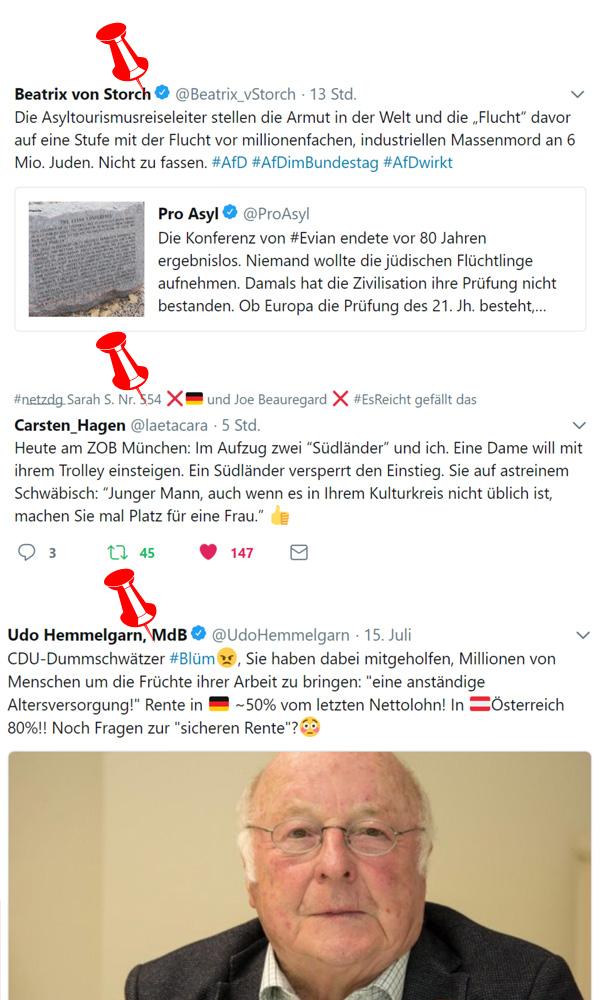 >> Netz-Funde: * Asyltourismus * Multikulti * Blüm-Rentenversprechen *  #asyltourismus #proasyl #multikulti #cdu #rente #blüm #rentensatz #Date:#