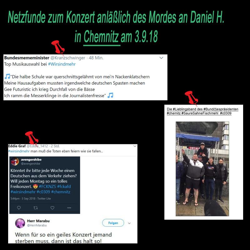 >> Netz-Funde: * Totentanz in Chemnitz *_  #sachsen  #chemnitz  #totentanz  #campiNO  #SaureSahneFischmehl  #antitrauerkonzert  #linkspunk  #buntespräsident #Date:09.2018#