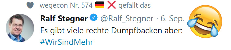 >> Netzfund: #SPD-Pöbel-Ralle Ralf #Stegner _ #Date:09.2018#