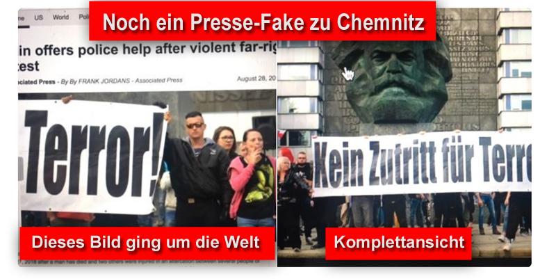 Noch ein Presse-Fake zu Chemnitz_  #chemnitz #Date:09.2018#