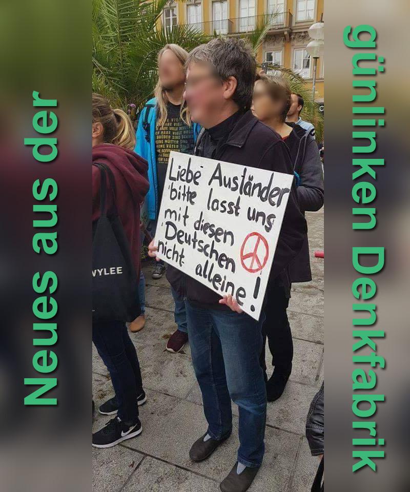 """Neues aus der #grünlinken  """"Denkfabrik""""_ #Date:09.2018#"""