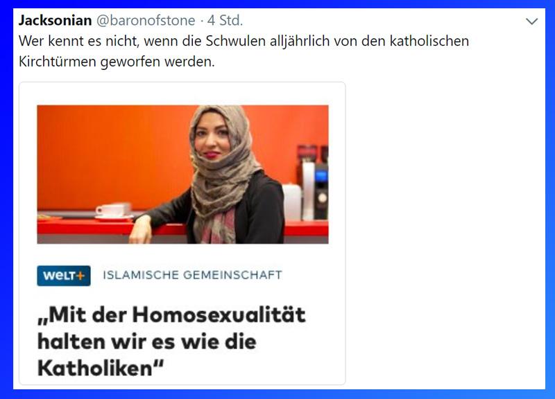 >> Netzfund_  #islam  #schwule  #homophobie #Date:09.2018#