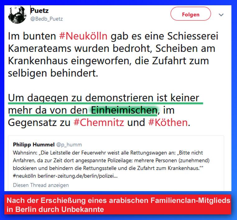 Netzfund: Arabischer Familienclan blockiert Klinikum in Berlin _   #berlin  #familienclan  #araber  #klinikum #Date:09.2018#