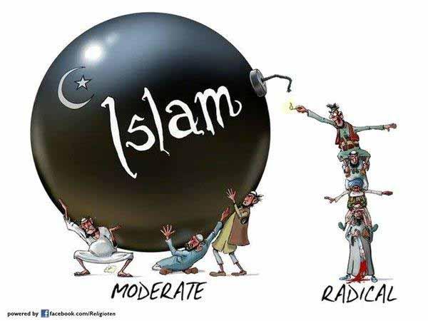 Der moderate Islam ist Islam und bleibt Mittelalter. Jederzeit aktivierbar und Basis für den radikalen Islam. #Date:01.2016#