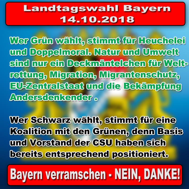 Bild zum Thema #LtwBy18 #bayern #landtagswahl