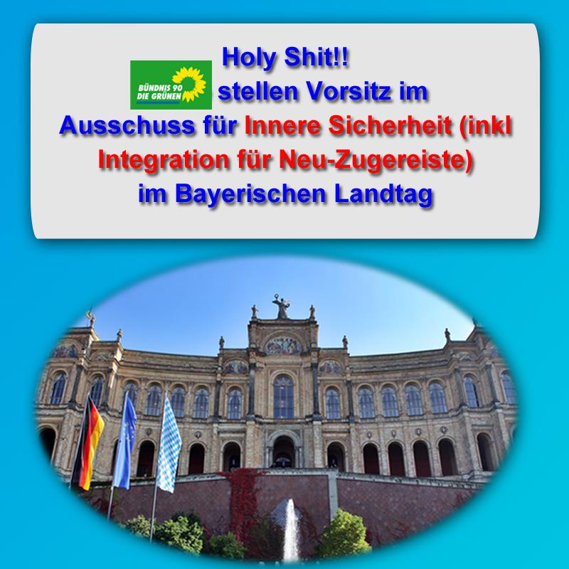 #bayern  #landtag  #ausschuss  #sicherheit  #integration #grüne #Date:11.2018#
