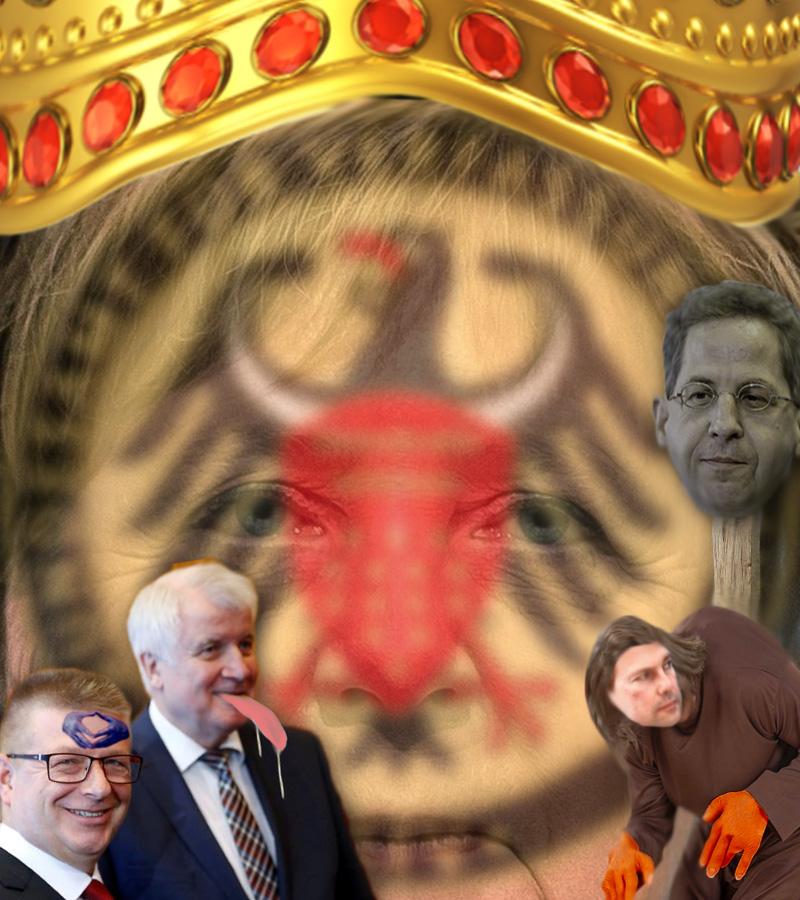 Bild zum Thema >> Verfassungsschutz: Das System Merkel stellt die Weichen | Neuer Chef von Merkels Gnaden