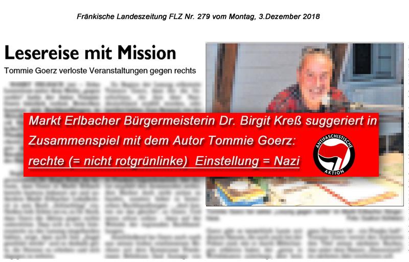 Bild zum Thema LK NEA-BW > Markt Erlbach: Gemach gemach Frau Dr. Kreß | Bürgermeisterin mit seltsamen Demokratie-Vorstellungen_
