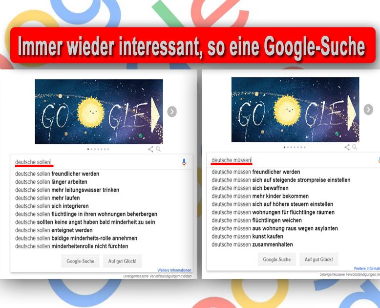 Bild zum Thema Immer wieder interessant, so eine #Google-Suche_