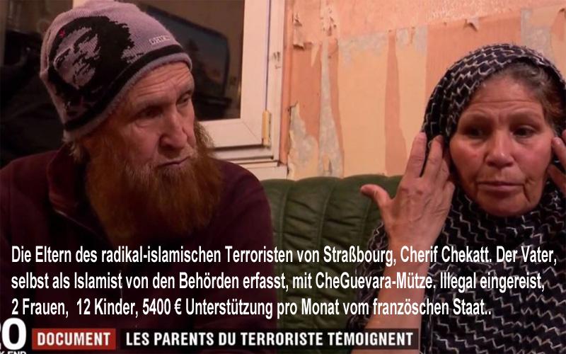 >> So leben Dschihadisten in Frankreich | Ähnlichkeiten mit deutschen Verhältnissen natürlich rein zufällig _  #strassburg  #strassbourg  #terror  #radikal-islam  #daesh #IslamischerStaat  #chekatt  #terrorfinanzierung    Weitere Informationen zu Ihrer Meinungsbildung finden Sie hier:   https://www.zdf.de/nachrichten/heute/anschlag-von-strassburg-video-des-attentaeters-gefunden-100.html  https://de.wikipedia.org/wiki/Anschlag_in_Stra%C3%9Fburg_2018  http://lepeuple.be/5-400-euros-dallocations-mensuelles-la-belle-vie-des-djihadistes/95324 #Date:12.2018#